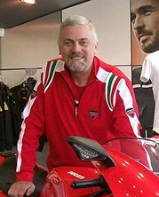 Mike here as Riding Coach for Ducati Manchester